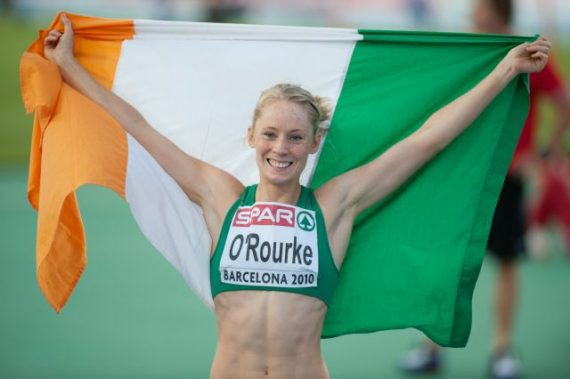 Derval O'Rourke jumps to support 24 marathons, 24 days charity challenge