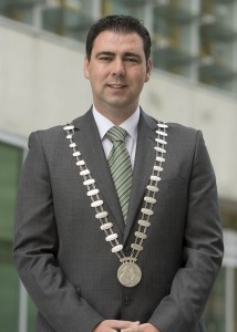 NO REPRO FEE: Cllr. John Paul O'Shea, Mayor of the County of Cork.  Picture: Martin Walsh.