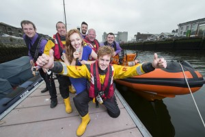 REPRO FREE Provision 100915 Singer Niamh O'Connor, musicians Mick Cuddihy, bass, Barry Mangan, guitar, Rory Power, drummer with RNLI Crosshaven crewmen Garry Heslin , helm rt., Ritchie Kelleher, helm and Harry O'Rourke , helmet in inshore lifeboat Miss Betty on Cork City Docks yest. as RNLI chosen to be Cork Jazz Festival's official charity partner Pic Michael Mac Sweeney/Provision The Cork Jazz Festival has chosen the RNLI, the charity that saves lives at sea, to  be its 2015 official charity partner. The announcement was made in Cork City today (Thursday 10 September) as the  RNLI launched a fundraising prize draw, which will see raffle tickets sold throughout  Cork and beyond in the run up to this year's Cork Jazz Festival which starts on  Friday 23 October and runs to Monday 26. Tickets cost €5 with entrants in with a chance of winning one of three top prizes: a  trip for two for five nights to New Orleans including flights and accommodation; two  tickets to Van Morrison and one night bed and breakfast at the Radisson Blu St  Helen's Hotel in Dublin; and a two night midweek bed and breakfast break at the  Gleneagle Hotel in Killarney.    The RNLI has eight lifeboat stations in County Cork located in Youghal, Ballycotton,  Crosshaven, Kinsale, Courtmacsherry, Union Hall, Baltimore and Castletownbere.  Last year alone, Cork RNLI lifeboats launched 163 times to a variety of call outs  bringing 255 people safely to shore. Pic Michael Mac Sweeney/Provision