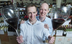 FREE PIC - NO REPRO FEE Matt Kane and Mike Kane  Pictured as CORK WINE BUSINESS EXPANDS IN THE NAME OF GOOD TASTE .Cork wine company Curious Wines, run by brothers Mike Kane and Matt Kane and who opened their second wine warehouse in Kildare in 2014, are expanding again.After five years in the Kinsale Road Commercial Centre, the company recently completed a move just around the corner to larger, refurbished premises on the Tramore Road.  Pictures Gerard McCarthy 087 8537228  More Info contact Michael Kane, Curious Wines    mike@curiouswines.ie     0353 87 968 2598