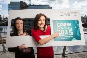 DKANE 14/10/2015REPRO FREEPic Darragh Kane.Pictured at the launch of the An Post 'Grow My Business'Conference, are Fiona Heffernan, Head of Post Media, An Post, Katherine Fitzpatrick, EU, Trade & Innovation Services Manager, Cork Chamber. The conference, which takes place on 12 November in the Radisson Blu Hotel, Little Island  Cork, will showcase how the SME sector can optimise opportunities of Ireland 2016 and position for growth in the coming year.  For more information see www.anpost.ie/growmybusiness
