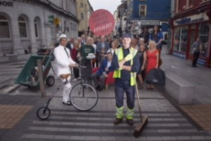 CMK 06082015  REPRO FREE NO FEE  CORK'S OLIVER PLUNKETT STREET IS ONLY IRISH STREET SHORTLISTED FOR 'THE GREAT STREET AWARD 2016': The Academy of Urbanism in London has named Oliver Plunkett Street as the only Irish Finalist in the 'The Great Street Award 2016' – 200 years after the street was first laid out. The street is one of three finalists to be named by the Academy and will compete against Cairns Street in Liverpool and Deptford High Street in London. The Academy of Urbanism was established in London in 2005 and aims to create a body of evidence of how great places are created, but also sustained. Members of the Academy will travel to Cork on 12 August 2015 to assess the street and engage with the public, private and community sectors of Oliver Plunkett Street. Pictured celebrating are traders from Oliver Plunkett Street.     Picture Clare Keogh  Deirdre Connolly CAMEO Communications 5 Lapps Quay Cork T: 021.4320067 M: 085.2449804 W: www.cameo.ie  @cameo_ie