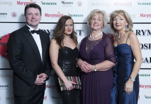 FREE PIC  NO REPRO FEE Pat O'Flynn, Clare Lyons,  Maura O'Brien and Noreen O'Sullivan  Marymount Ball  Comminette pictured at The Marymount Hospice Ball, the highlight of Cork's social calendar each year, had guests dancing the night away for a very worthy cause at the Radisson Blu Hotel, Little Island. This is the ninth year of the Marymount Ball and, to date, the event has raised in excess of €800,000 towards funding and maintaining the ongoing work the hospice provides in palliative and respite care to the sick and elderly. Pictures Gerard McCarthy 087 8537228  More Info contact Maura O'Brien 086 8590335  mauracork@hotmail.com   , Noreen O'Sullivan    normaos2014@gmail.com