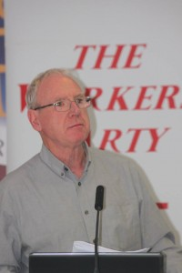 Cork City Cllr Ted Tynan (Worker's Party)