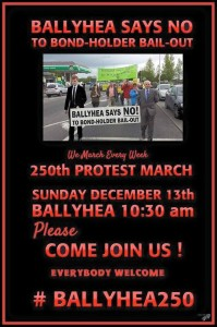 Recent poster for Ballyhea campaign