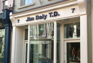 The constituency office of West Cork Government TD Jim Daly was one of the many affected by floods in Bandon, Co Cork in December 2015