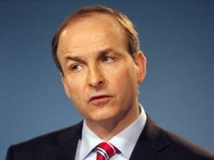 The Cork based Fianna Fail Leader