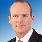 Cork based Minister Simon Coveney TD