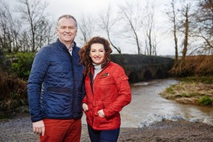 Daithi and Maura launch Village with Vision 1