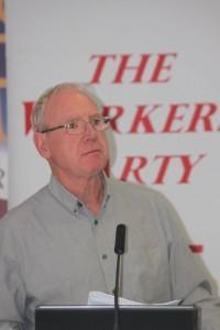 Cork City Cllr Ted Tynan (WP)