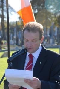 Lord Mayor Chris O'Leary
