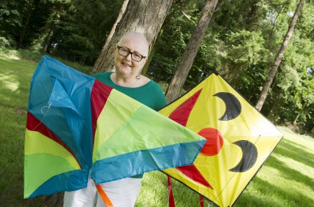 Cancer Survivor, Joanie Hanley, has raised €21,000 to date and counting for cancer research through her fundraising events such as Kitefest. The fourth annual Kitefest will take place on Father's Day, Sunday, 19 June, at Millstreet Country Park from 1pm to 5pm.